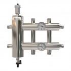 Гидрострелки с коллекторами и распределительные коллекторы отопления