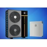 Инверторный тепловой насос воздух-вода New Energy BKDX50 200I/150, нагрев, охлаждение, ГВС, 20 кВт